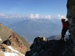 Monte Emilius via ferrata, 3559m